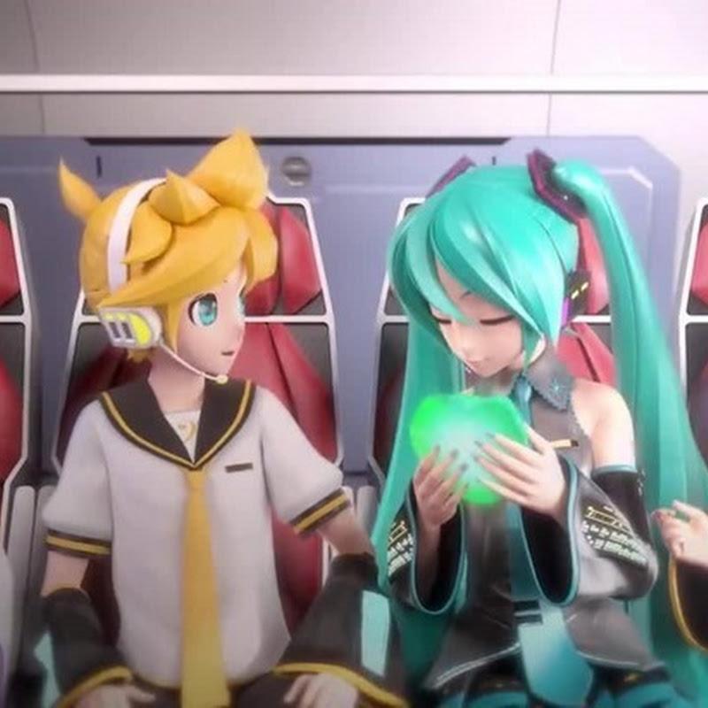 Hatsune Miku Project Diva F 2nd – video del opening del juego