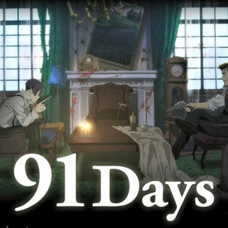 "Trailer para el anime ""91 Days"""