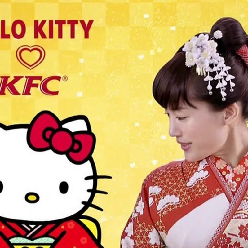 Ayase Haruka – comercial de KFC x Hello Kitty