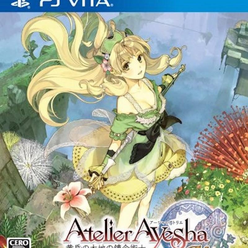Trailer de lanzamiento para Ayesha no Atelier Plus (PSVita)