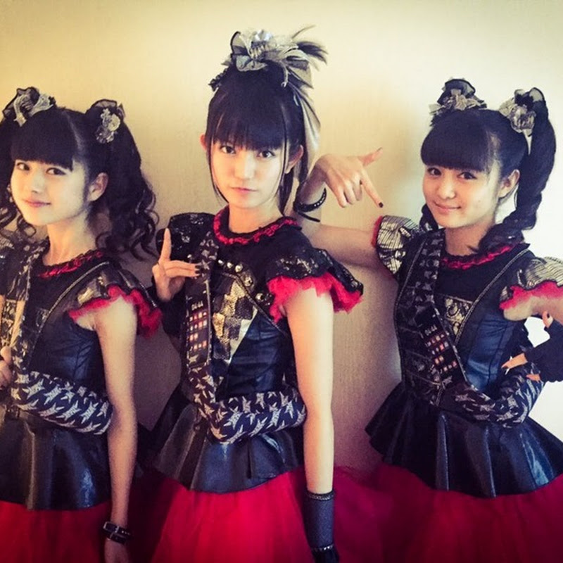 BABYMETAL en el MUSIC STATION SUPER LIVE 2015