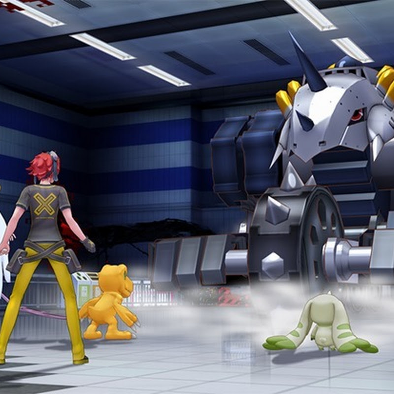 Digimon Story: Cyber Sleuth – primeros screenshots