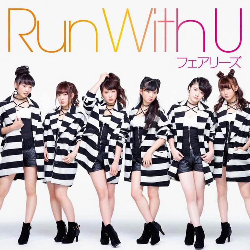 Fairies – RUN with U (portadas del 7° single)