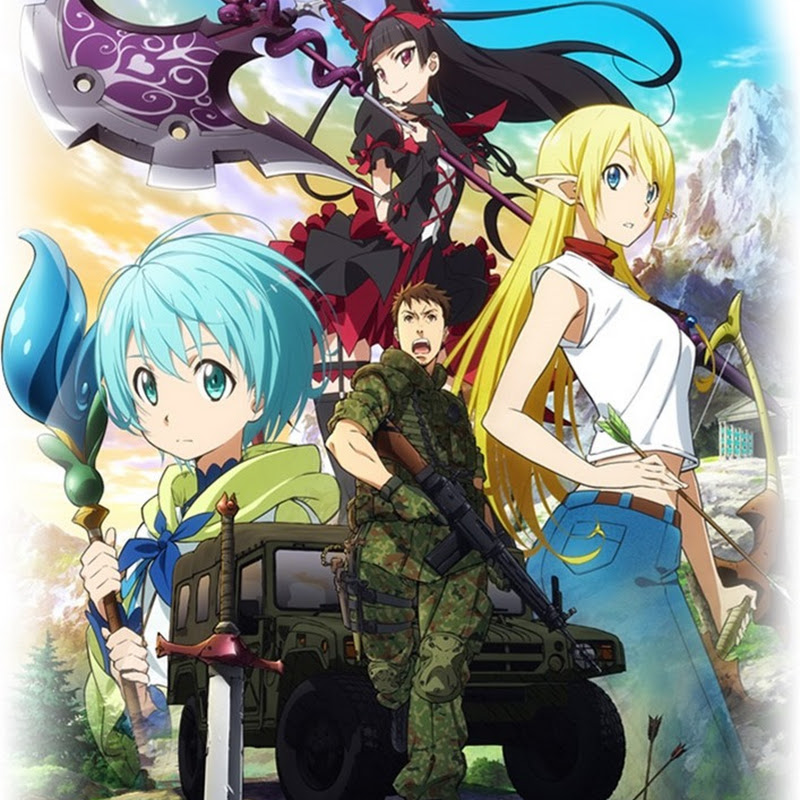 Gate: Jieitai Kanochi nite, Kaku Tatakaeri se estrena en junio (anime)