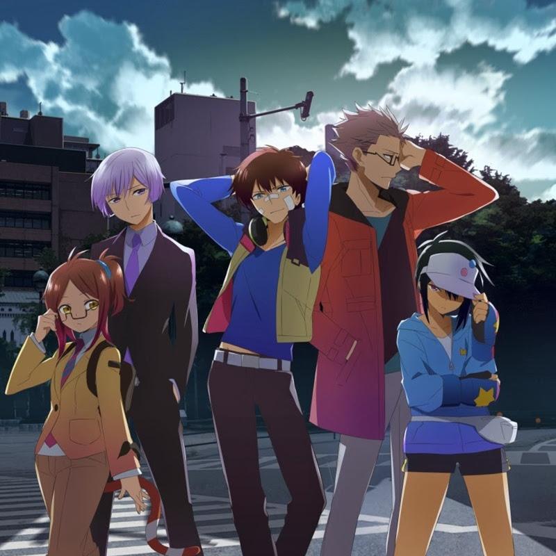 Hamatora – nuevo anime con personajes super-deformed