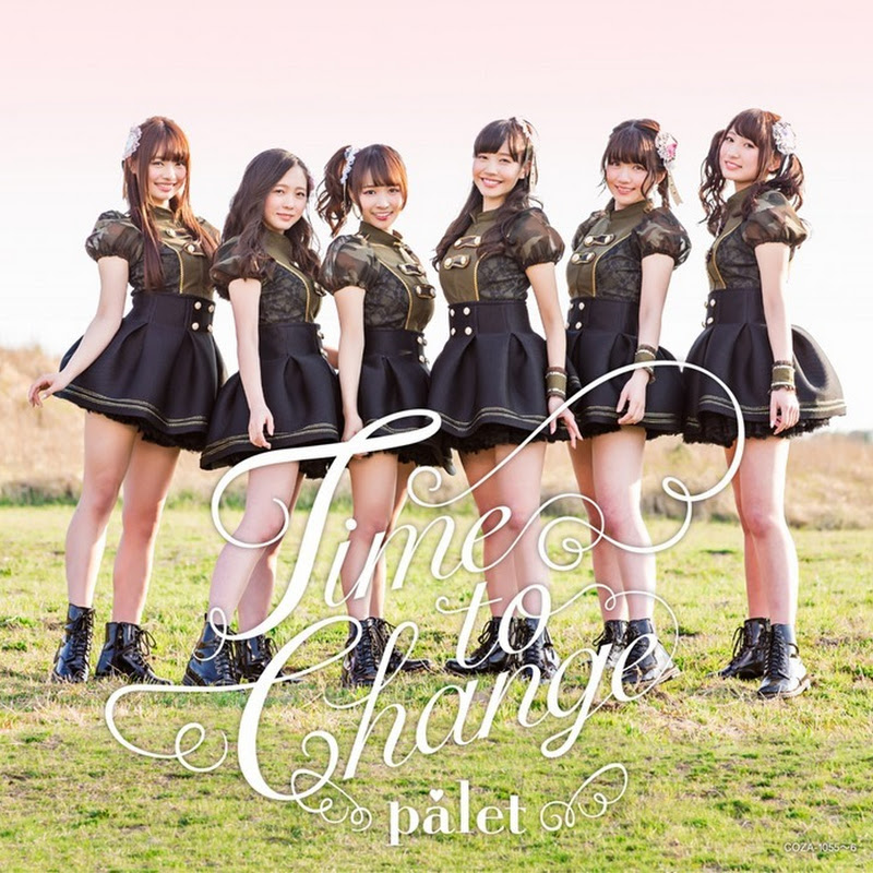 Palet – Time to Change (5° single)