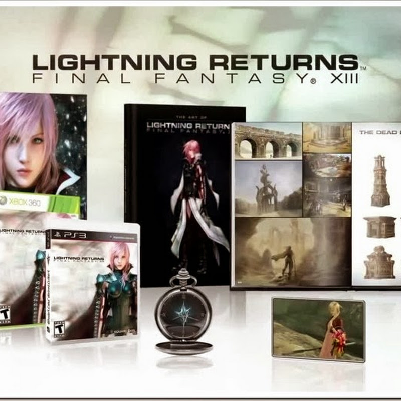 Lightning Returns: Final Fantasy XIII Collector's Edition – video preview