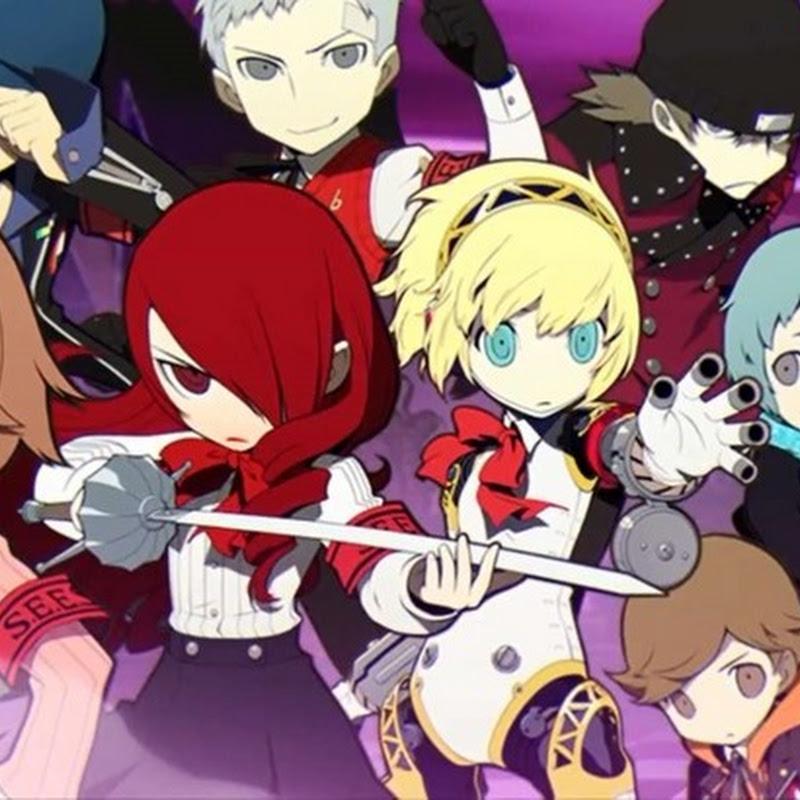 Persona Q para Nintendo 3DS, trailer con todos los personajes