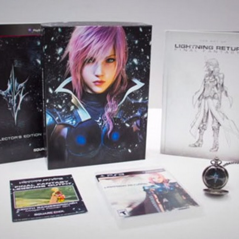 "Video unboxing de ""Lightning Returns: Final Fantasy XIII"""