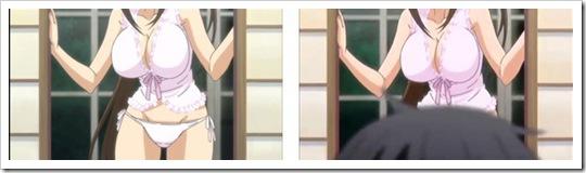 Sekirei Anime, con y sin censura