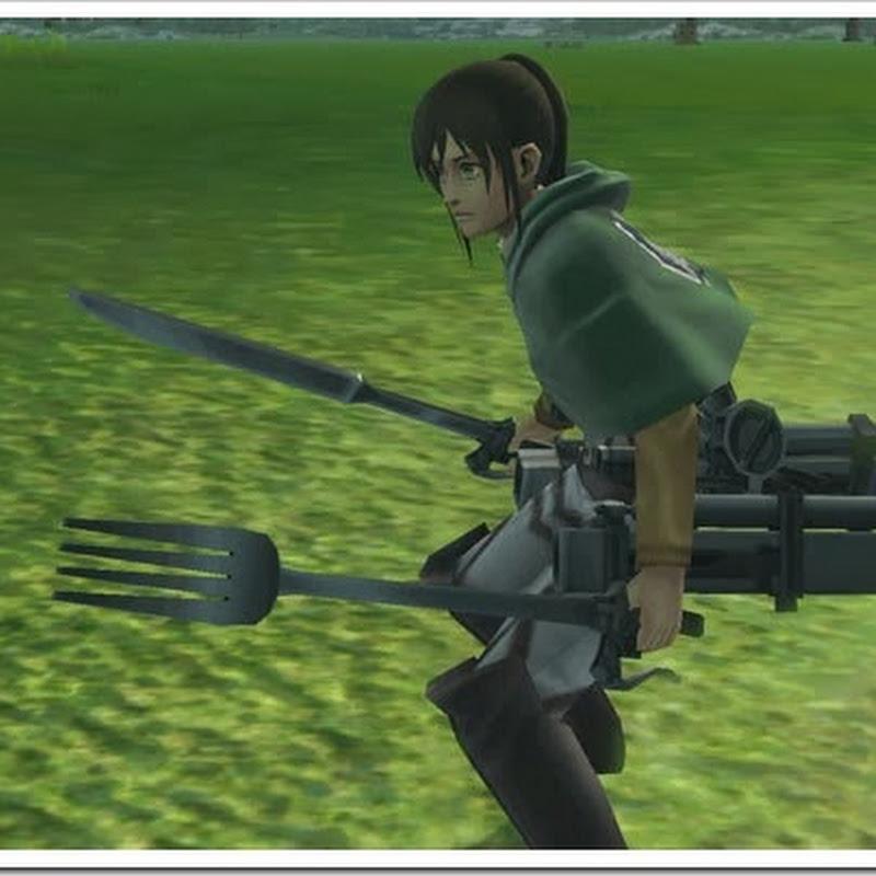 Shingeki no Kyojin para 3DS – contenido descargable permite jugar con Sasha