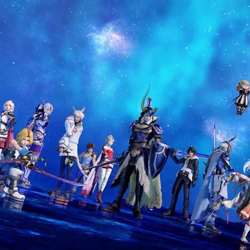 Dissidia Final Fantasy Arcade – trailer y personajes jugables