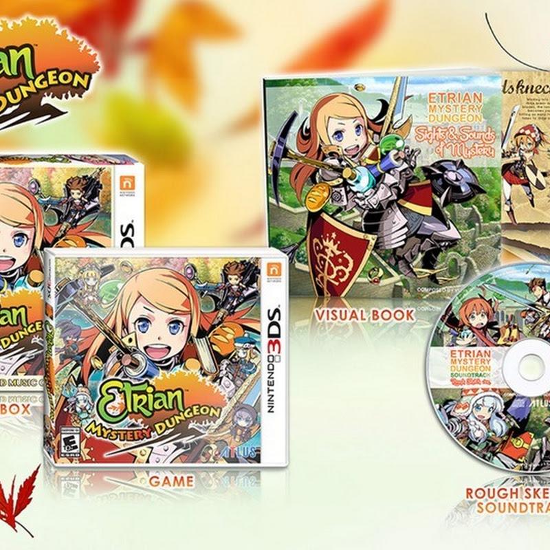Etrian Mystery Dungeon saldrá para Nintendo 3DS en marzo