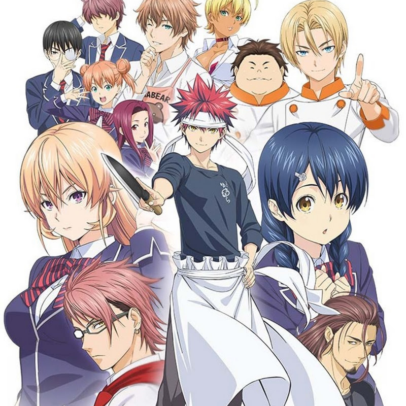 Food Wars: Shokugeki no Souma se estrena el 3 de abril (anime)