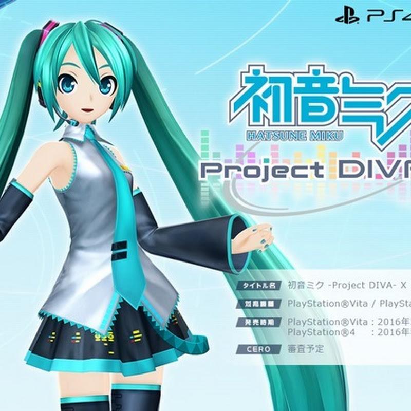 Hatsune Miku Project Diva X llegará a PSVita en marzo
