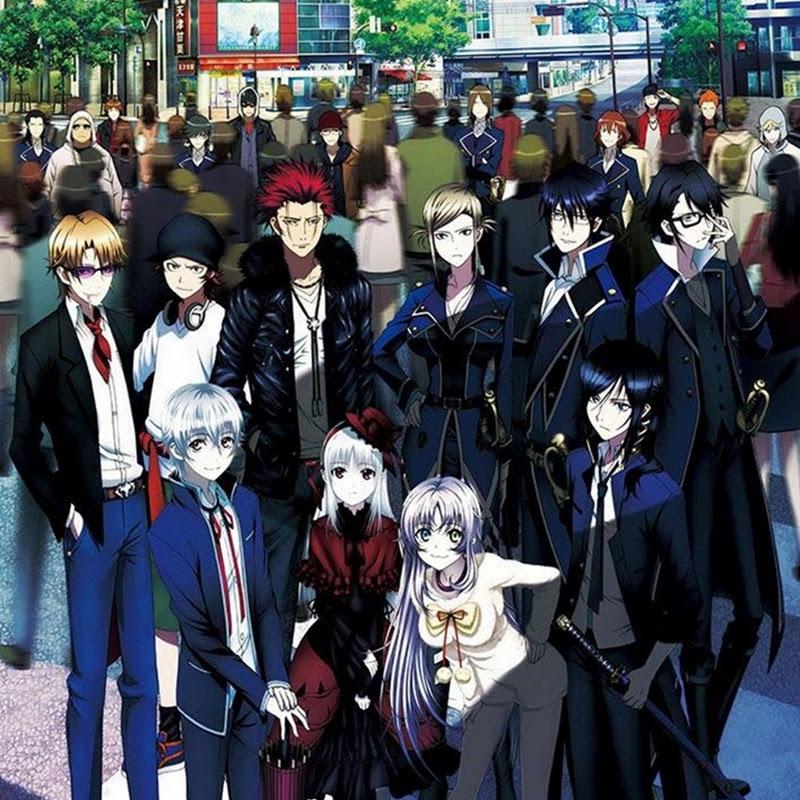 Segunda temporada para K anime comienza en otoño (trailer)
