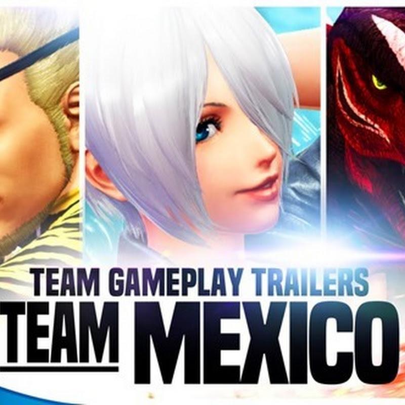 The King of Fighters XIV revela su nuevo trailer para el Equipo México