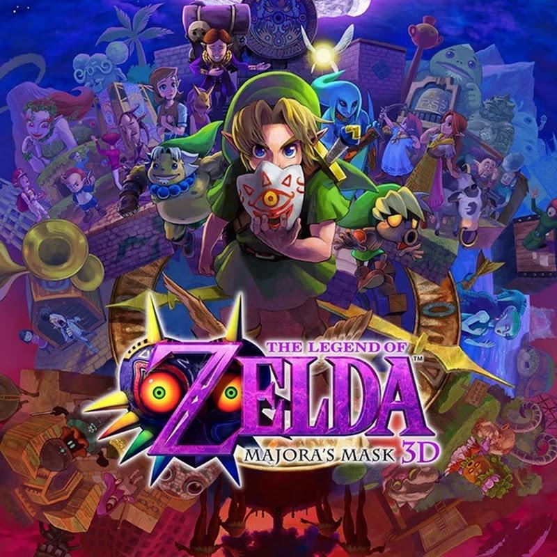 Trailer del juego y edición especial de Nintendo 3DS Majora's Mask