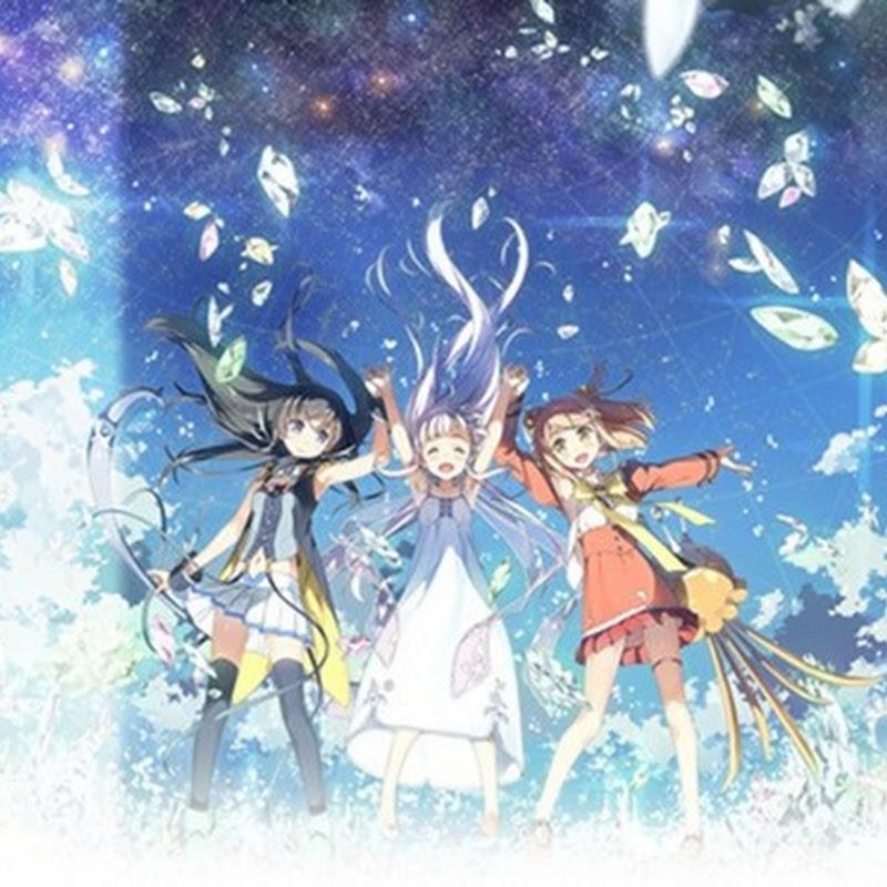 Glass no Hana to Kowasu Sekai – personajes para la película de Anime