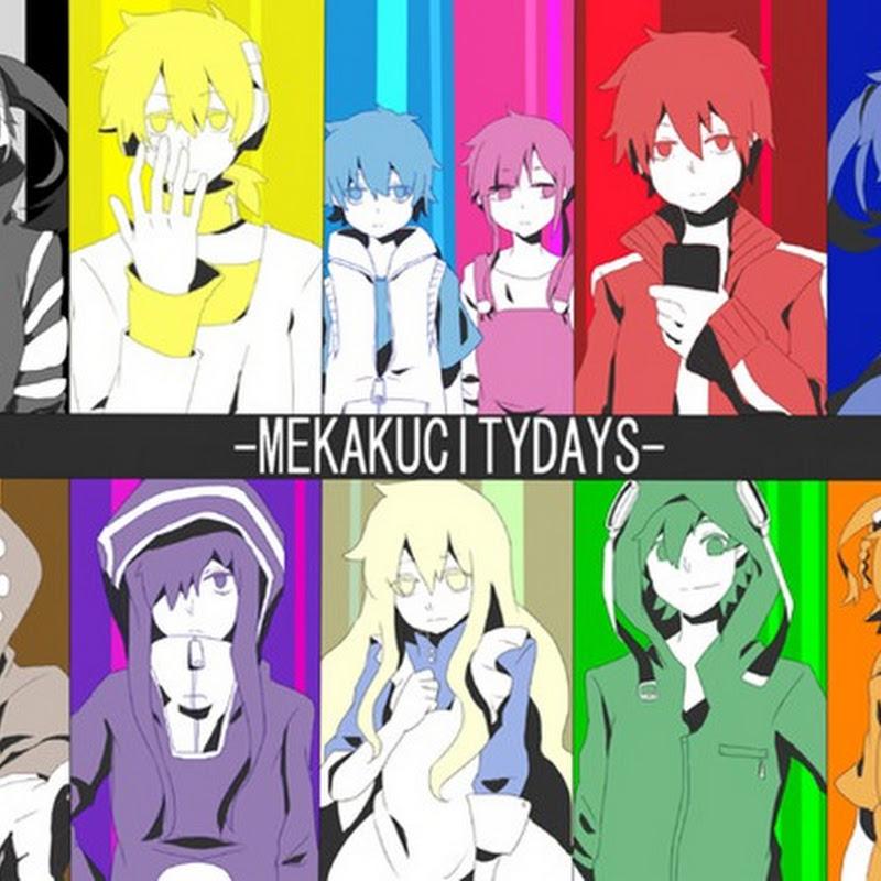 """Detalles para el anime """"Mekaku City Actors"""""""