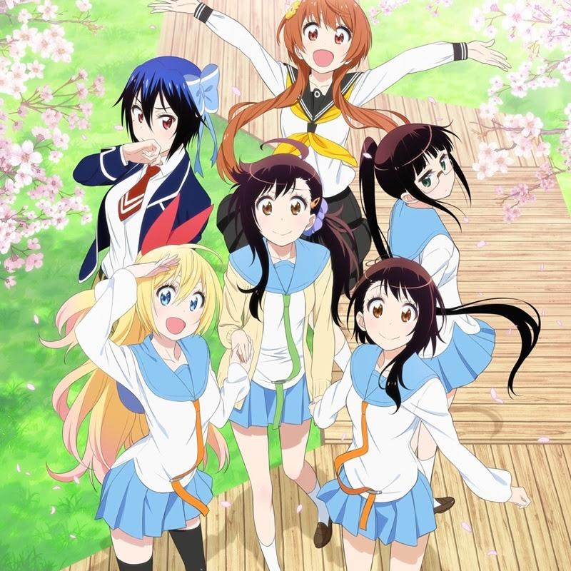 Nisekoi: – nuevo trailer y comercial de TV para el anime