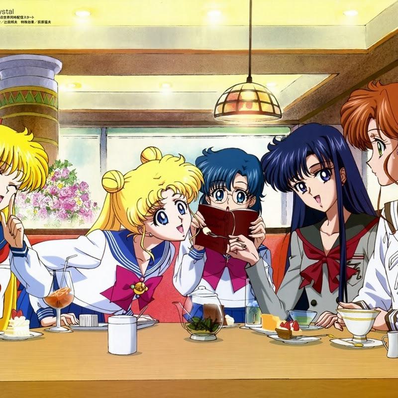 """""""Sailor Moon Crystal"""" – animación y screenshots para el nuevo anime"""