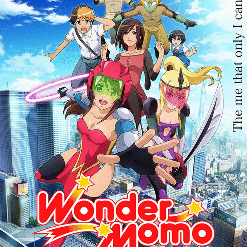 """Nuevo anime web de """"Wonder Momo"""""""