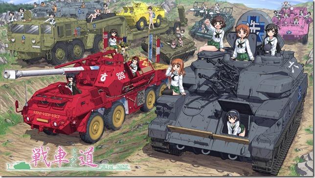 Girls und Panzer tendrá una Película y OVA