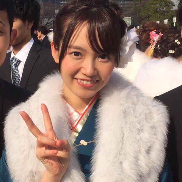 Nakamoto Himeka celebrando el Seijin no hi