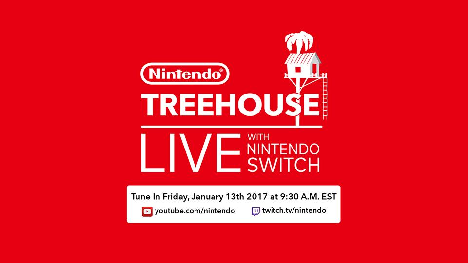 Nintendo Treehouse Live with Nintendo Switch, el 13 de enero