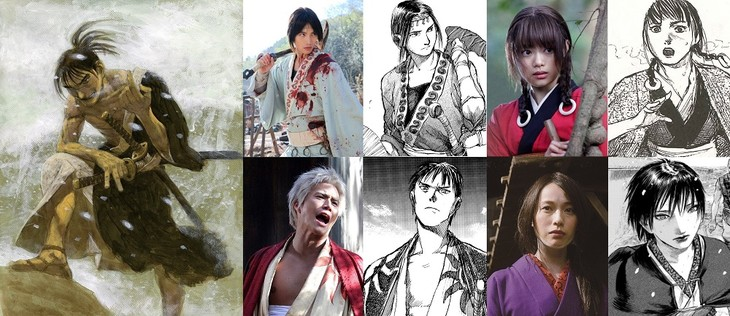 Mugen no Juunin (La espada del inmortal) compara Live Action con el Manga