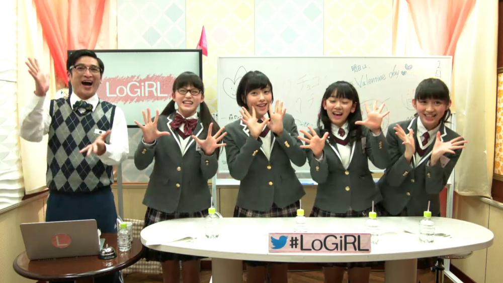 Sakura Gakuin en LoGiRL episodio 84 (2017-02-13)