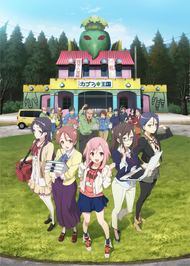Sakura Quest – nuevo anime original de P.A. Works