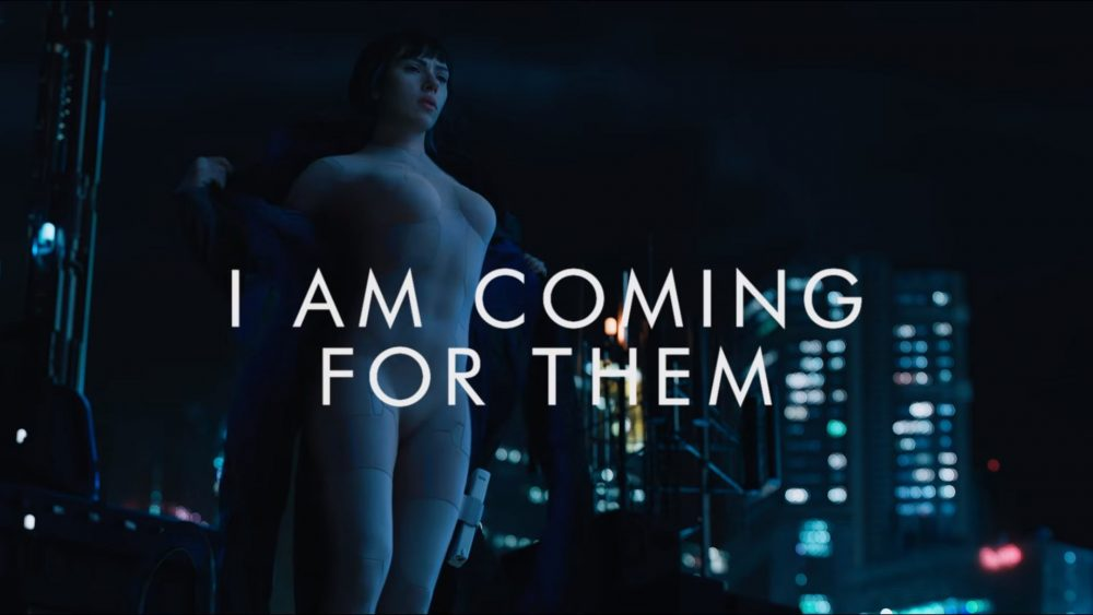 Dos nuevos videos promocionales para Ghost in the Shell (live action)