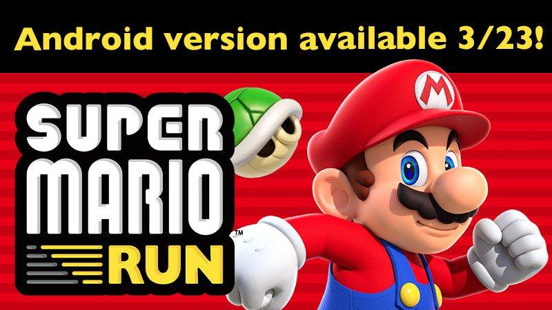 Mario Run llegará a Android la próxima semana