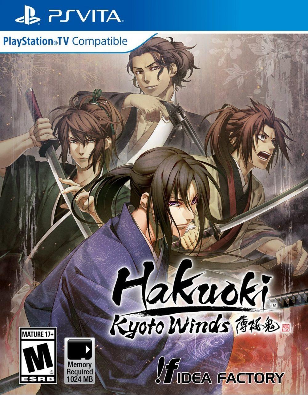 Opening para Hakuouki Shinkai (PS4)