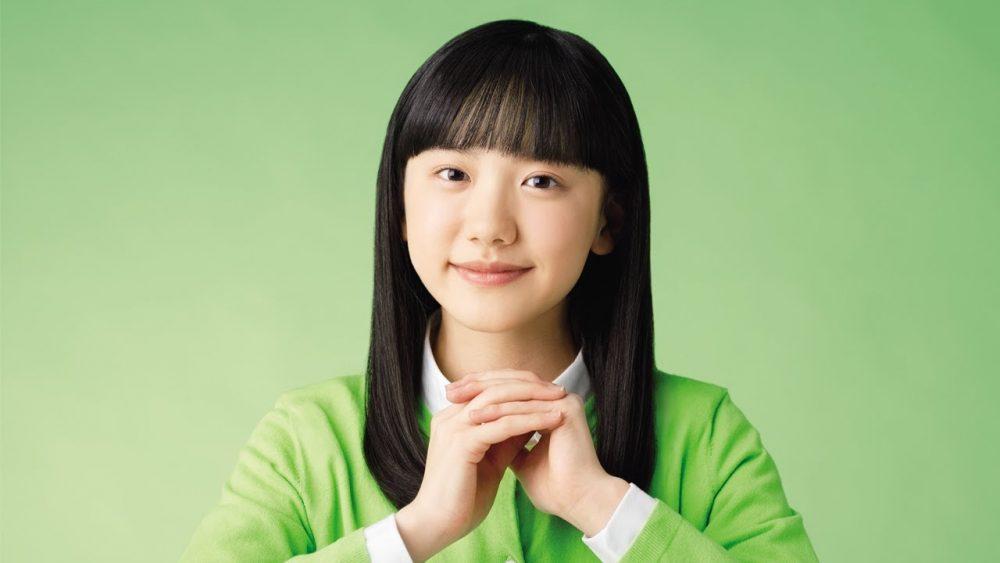 Ashida Mana en un comercial para Zukan NEO