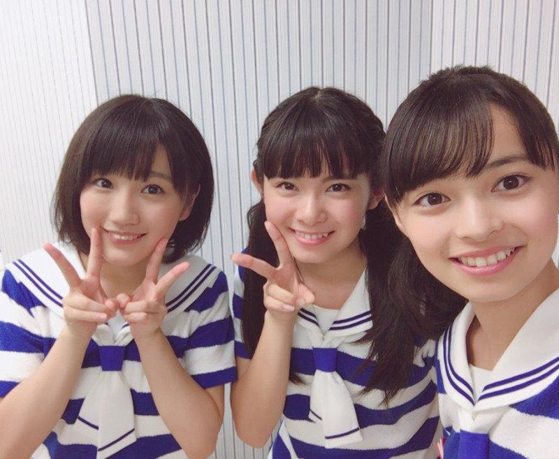 Funaki Musubu, Kamikokuryou Moe, Yamazaki Yuhane – comercial para PIZZA-LA